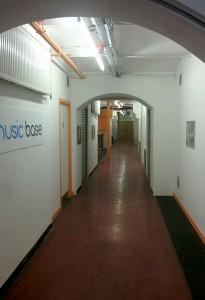 Music Base corridor
