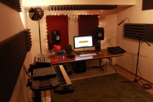 photo of the finished studio