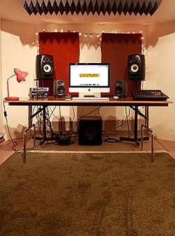 photo of the studio